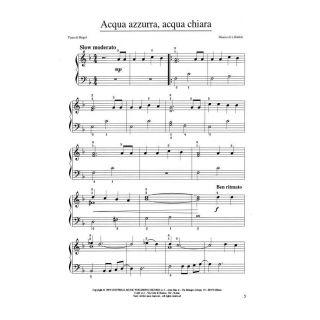 2 Ricordi Primi Passi sulla Tastiera del Pianoforte con le Canzoni