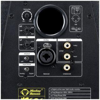 Monkey Banana Turbo 4 Nera - Monitor da Studio Attiva 50W02