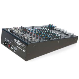 Montarbo MC-R8 FX - Mixer Passivo 6 Canali con Effetti03