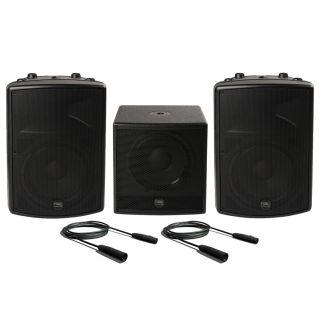 Montarbo FiveO Impianto Audio Completo 1600W RMS