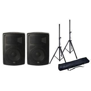Montarbo FiveO Coppia D10A Casse Biamplificati con Speaker Stand