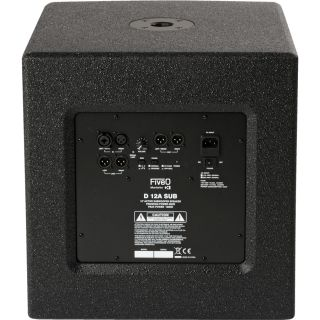Montarbo FiveO D12A Sub - Subwoofer Attivo 600W RMS02