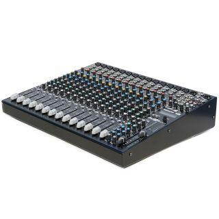 Montarbo MC-R16FX - Mixer Audio Passivo 14 Ch con Effetti02