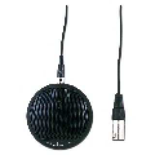 1 SOUNDSATION - Microfono Boundary ad alta sensibilità Nero