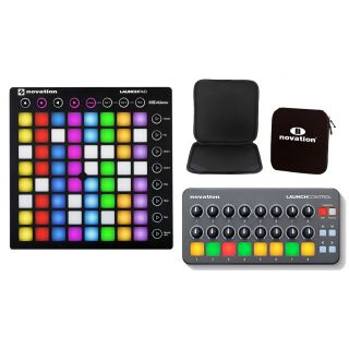DJ Pack NOVATION LaunchPad MKII / Launch Control / Custodia per Pad Bundle