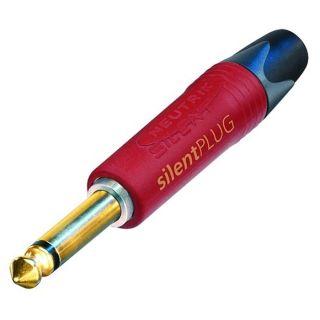 0 Neutrik NP2X-AU-SILENT - 6.3 mm Jack Plug 2 Pin Mono male, Silent