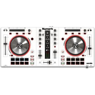Numark Mixtrack Pro 3 white front