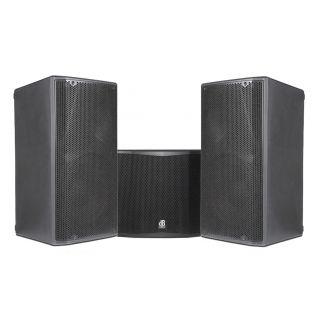 DB TECHNOLOGIES Impianto Audio Professionale Completo 3800W Coppia OPERA 12 Casse Attive / Subwoofer