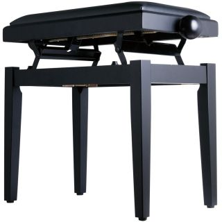 Panchetta Nera Regolabile per Pianoforte / Seduta in Sky02