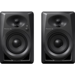 Pioneer dm40k black front
