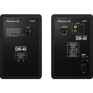 Pioneer dm40k black rear