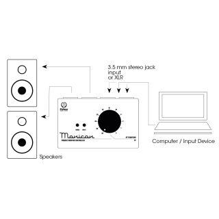 5 Palmer Pro MONICON® W - Controller monitor passivo bianco in edizione limitata