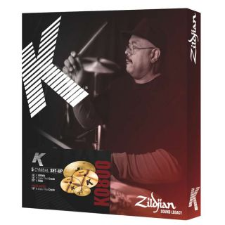 0 ZILDJIAN - Cartone 5 K (K0800): ride + hi-hat + 2 crash