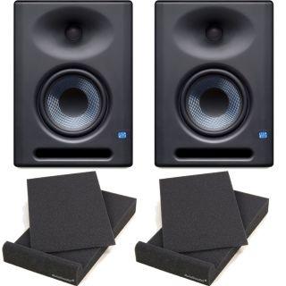 Presonus Eris E5 XT Monitor da Studio 70W (Coppia) + 2 Pad Isolante