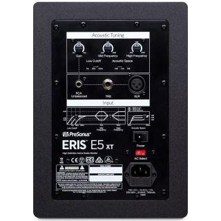 1 Presonus Eris E5 XT Monitor da Studio 70W (Coppia) + 2 Pad Isolante