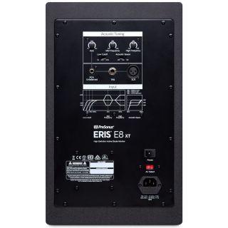 1 Presonus Eris E8 XT Monitor da Studio 130W (Coppia) + 2 Pad Isolante