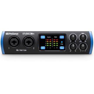 PreSonus Studio 26c - Interfaccia Audio MIDI/USB 2 in/4 out