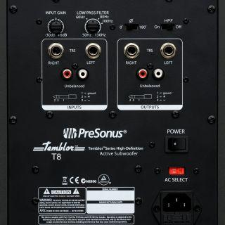 Presonus Temblor T8 - Subwoofer da Studio02