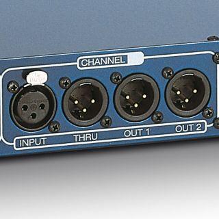 1 Palmer Pro PRMMS - Splitter Microfonico a 4 Canali