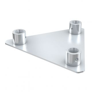0 Showtec - Triangle base plate female - Piastra di base per PT30