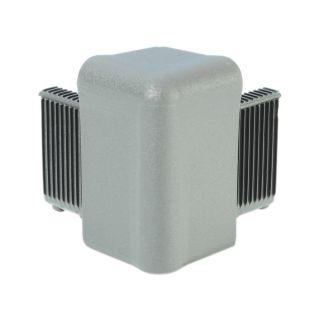 0 Adam Hall Hardware Q 4504 AG - Angolo grigio alluminio per Telaio di Copertura