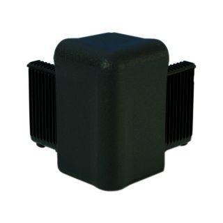 0 Adam Hall Hardware Q 4504 BLK - Angolo nero per Telaio di Copertura