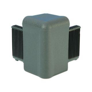 0 Adam Hall Hardware Q 4504 MG - Angolo grigio medio per Telaio di Copertura