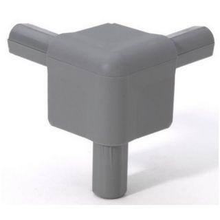 0 Adam Hall Hardware Q 4506 MG - Angolo grigio medio per Casemaker