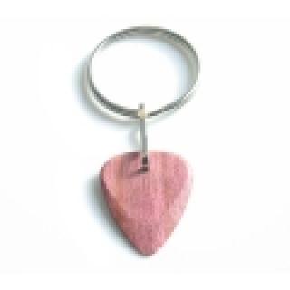 1 TIMBERTONES - Portachiavi con plettro in legno Purple Heart