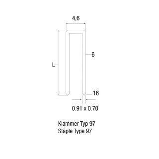 3 Adam Hall Hardware Q 997 - Punto metallico 6 mm