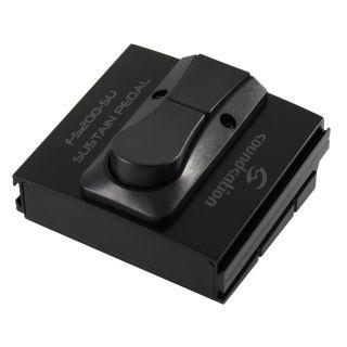 0 SOUNDSATION - Pedale sustain per tastiera con switch per la selezione dello stato