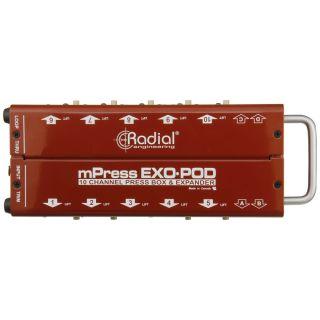 Radial Exo-Pod - Splitter Audio Passivo 14 Out