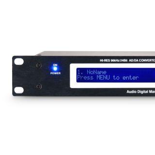 """2 Ram Audio ADM 24 - Controller DSP da 19"""""""