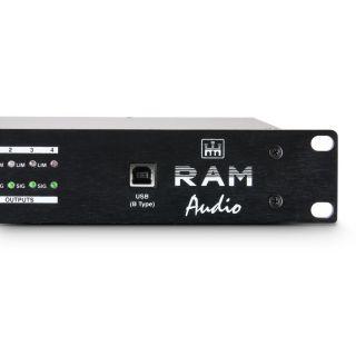 """4 Ram Audio ADM 24 - Controller DSP da 19"""""""