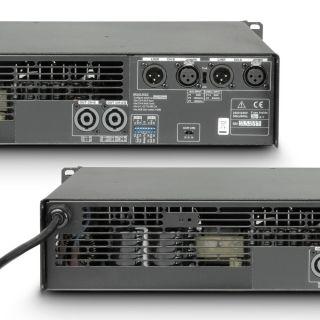 5 Ram Audio S 1500 DSP - Finale di potenza PA 2 x 880 W 2 Ohm incl. modulo DSP
