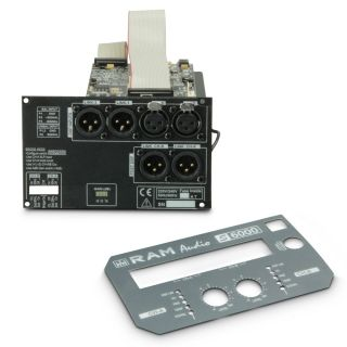 6 Ram Audio S 2000 DSP GPIO - Finale di potenza PA 2 x 1190 W 2 Ohm incl. modulo DSP e GPIO