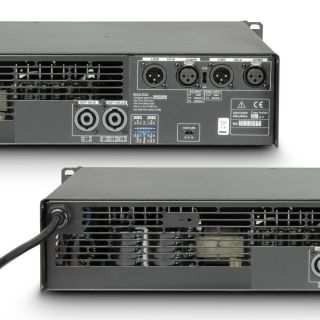 5 Ram Audio S 3000 DSP - Finale di potenza PA 2 x 1570 W 2 Ohm incl. modulo DSP