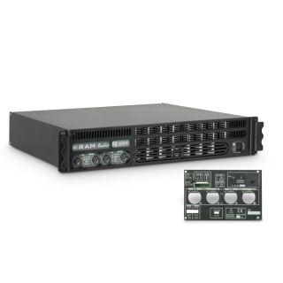 0 Ram Audio S 3004 GPIO - Finale di potenza PA 4 x 700 W 2 Ohm incl. modulo GPIO
