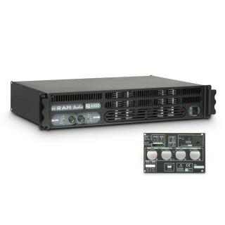 0 Ram Audio S 4000 GPIO - Finale di potenza PA 2 x 1950 W 2 Ohm incl. modulo GPIO