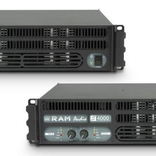 4 Ram Audio S 4000 GPIO - Finale di potenza PA 2 x 1950 W 2 Ohm incl. modulo GPIO