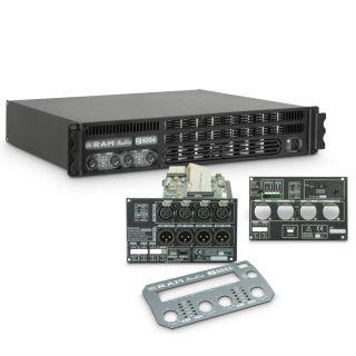 0 Ram Audio S 4004 DSP GPIO - Finale di potenza PA 4 x 980 W 2 Ohm incl. modulo DSP e GPIO
