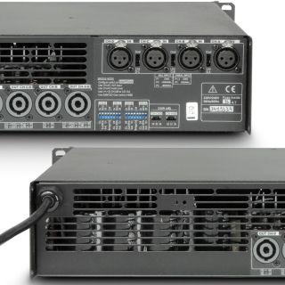5 Ram Audio S 4004 DSP GPIO - Finale di potenza PA 4 x 980 W 2 Ohm incl. modulo DSP e GPIO