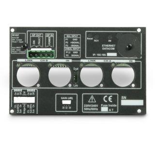 8 Ram Audio S 4004 DSP GPIO - Finale di potenza PA 4 x 980 W 2 Ohm incl. modulo DSP e GPIO