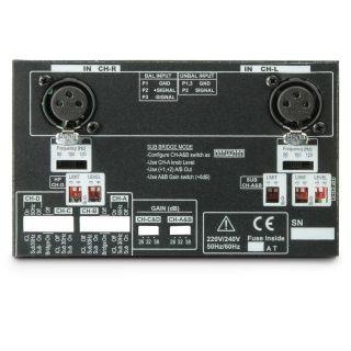 6 Ram Audio S 4004 X OVER - Finale di potenza PA 4 x 980 W 2 Ohm incl. modulo processore analogico