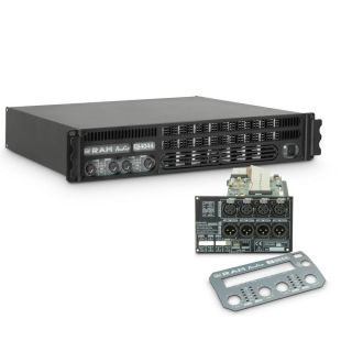 0 Ram Audio S 4044 DSP - Finale di potenza PA 4 x 975 W 4 Ohm incl. modulo DSP