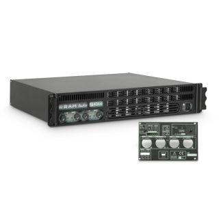0 Ram Audio S 4044 GPIO - Finale di potenza PA 4 x 975 W 4 Ohm incl. modulo GPIO