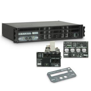 0 Ram Audio S 6000 DSP GPIO - Finale di potenza PA 2 x 2950 W 2 Ohm incl. modulo DSP e GPIO
