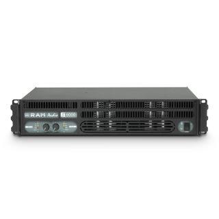 2 Ram Audio S 6000 DSP GPIO - Finale di potenza PA 2 x 2950 W 2 Ohm incl. modulo DSP e GPIO