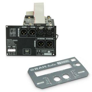 6 Ram Audio S 6000 DSP GPIO - Finale di potenza PA 2 x 2950 W 2 Ohm incl. modulo DSP e GPIO