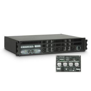 0 Ram Audio S 6000 GPIO - Finale di potenza PA 2 x 2950 W 2 Ohm incl. modulo GPIO
